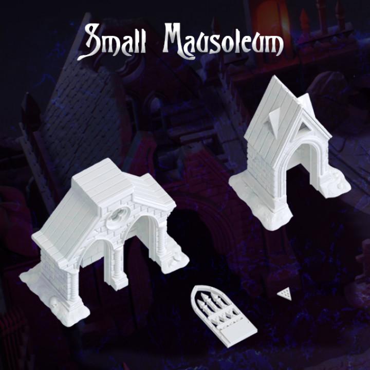 Small Mausoleum's Cover