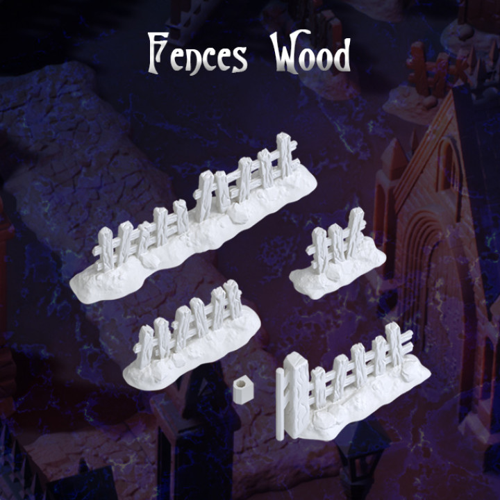 Fences wood's Cover