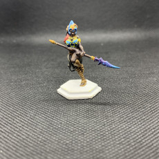 Picture of print of Lancer girl