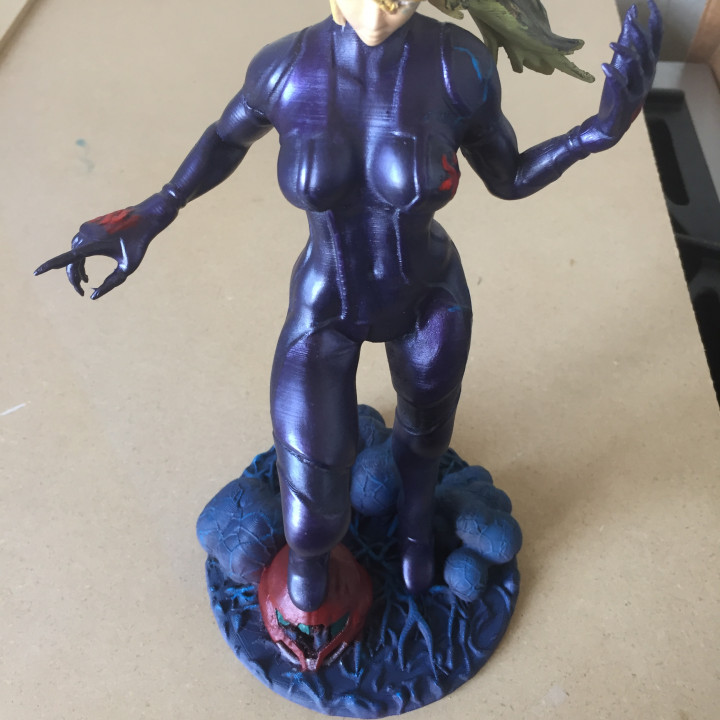 Dark Zero  Suit Samus