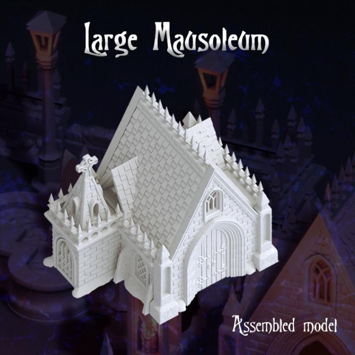 Large Mausoleum's Cover