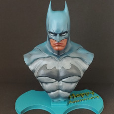 Picture of print of Batman bust
