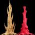 """Tabletop plant: """"Rhododendron Nostril 3"""" (Alien Vegetation 27) image"""