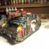 Battle Nun Flamer Tank (28mm compatible wargame proxy) image