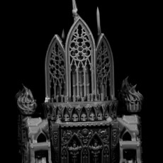 Picture of print of Battle Nun Organ Tank (28 mm compatible)