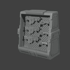 Weapon Rack - SMGs