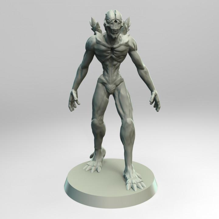 Kaijin Warrior - Tabletop Miniature