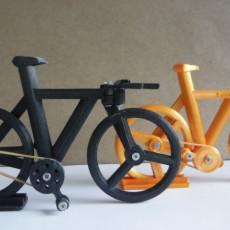 Fixed Wheel single fork Time Trial Bike