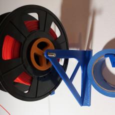 Filament wall mount