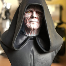 Picture of print of Emperor Pelpatine