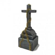 Large Cross Grave Monument Gravestone Headstone graveyard cemetery