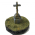 Large Cross Grave Monument Gravestone Headstone graveyard cemetery image