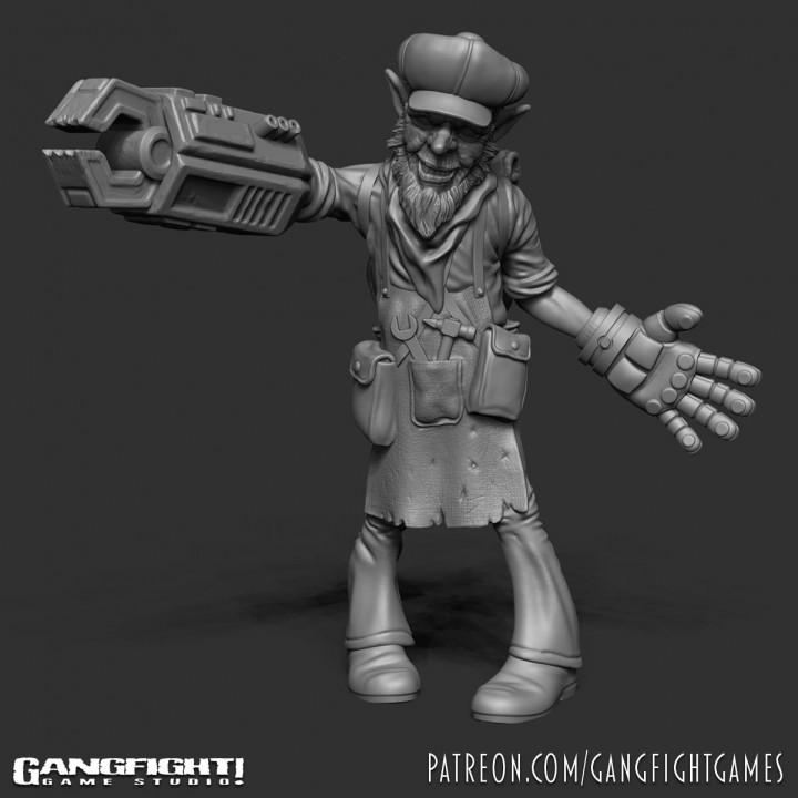 Sprockit - Goblin Mechanic