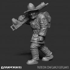 Sarge - Ogre War Hero