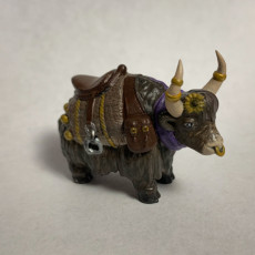 Picture of print of Yak Mount