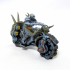 Infernal war bike + rider and foot soliders image
