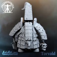 Torvald Sturlagson, Mountain Dwarf Necromancer