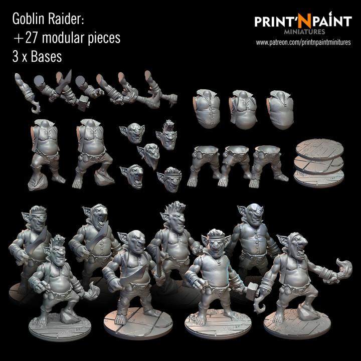 Modular Goblin Raider