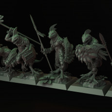 Lizardmen Skink Unit with Spear and Shield