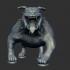 Cartoonish Bulldog Sculpt image