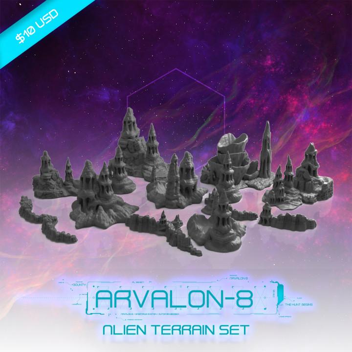 Alien Geo Terrain Set's Cover