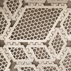 Polypanels // 2x2 Rhombus