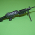 M249 SAW  FN MINIMI - scale 1/4 image