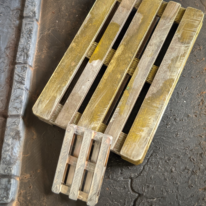 PALLET FOR DIORAMAS AND TABLETOP