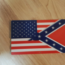 Amerifederate flag