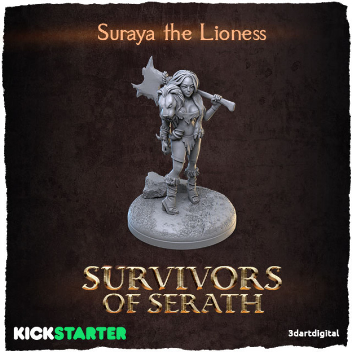 Suraya the Lioness's Cover