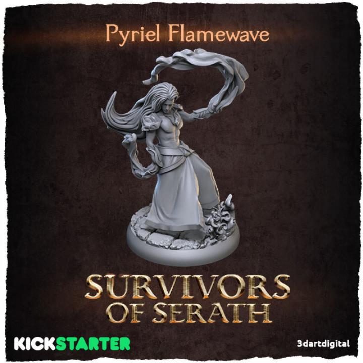 Pyriel Flamewave's Cover