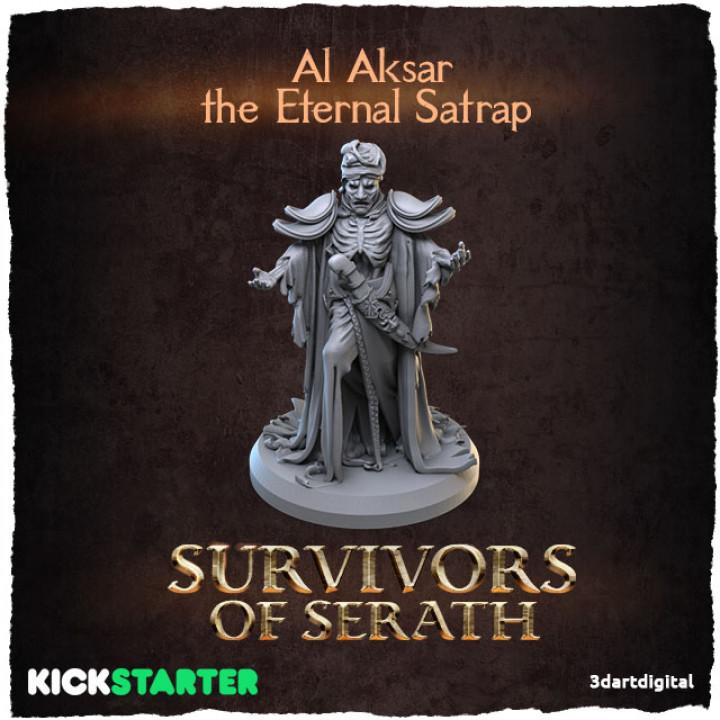 Al Aksar the Eternal Satrap's Cover