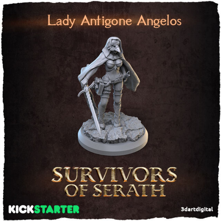 Lady Antigone Angelos's Cover