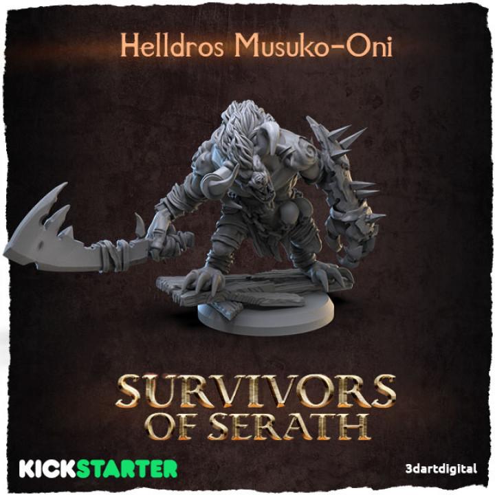 Helldros Musuko-Oni's Cover