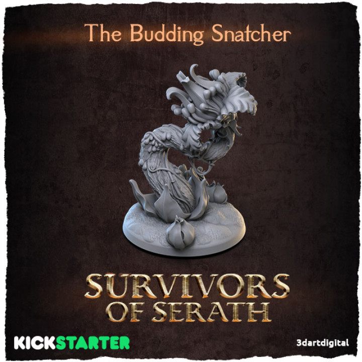 The Budding Snatcher's Cover
