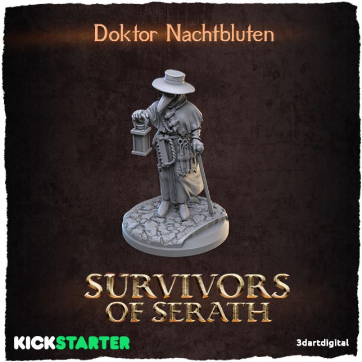Doktor Nachtbluten's Cover