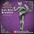 Cat Girl Brawler - Cute Desktop Girl - 120mm image