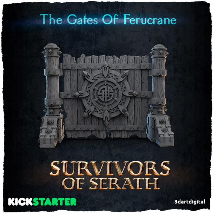 The Gates Of Ferucrane's Cover