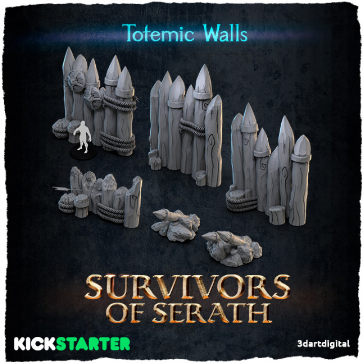 Totemic Walls's Cover
