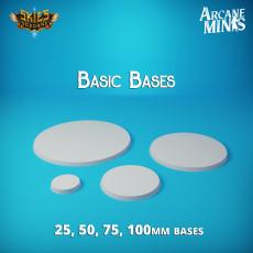 Arcane Minis - Basic Mini Stands