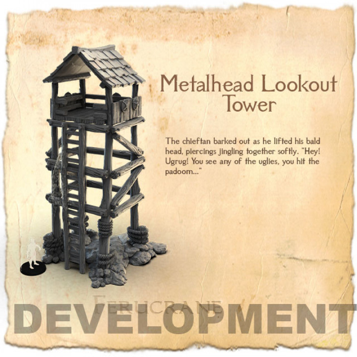 Metalhead Lookout Tower's Cover