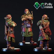 Elven archer. Elf commando