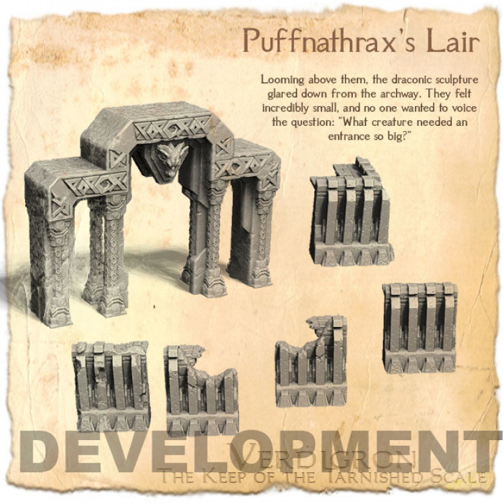 Puffnathrax's Lair's Cover