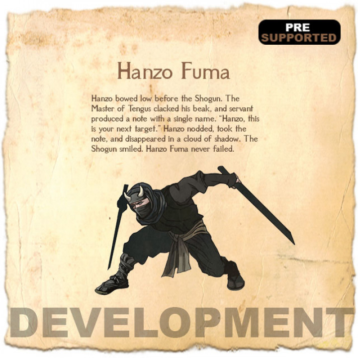 Hanzo Fuma's Cover