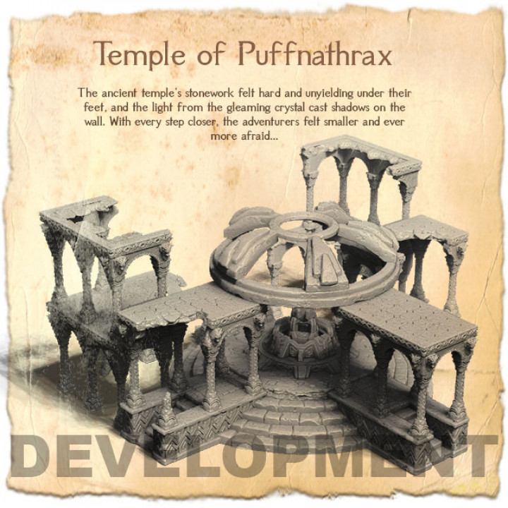 Temple of Puffnathrax's Cover