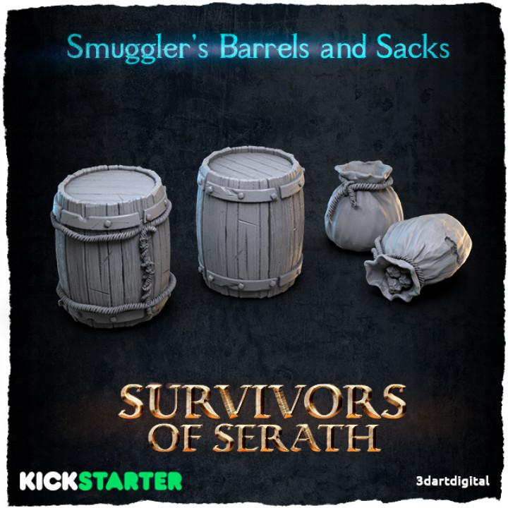 Smuggler's Barrels and Sacks's Cover