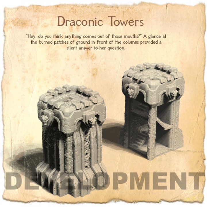 Draconic Towers's Cover