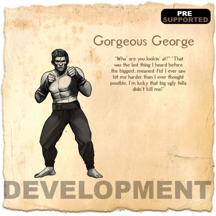 Gorgeous George's Cover