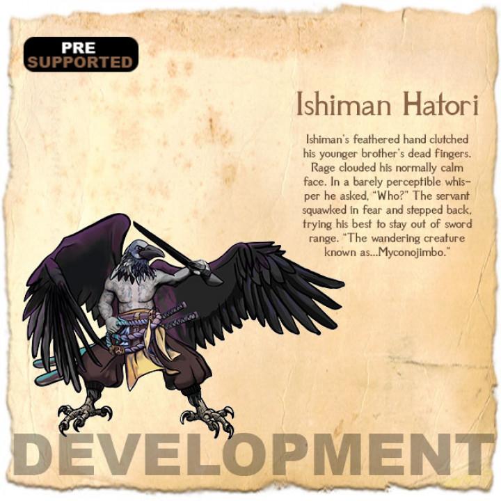 Ishiman Hatori's Cover