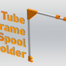 Desk Mounted Tube Frame Spool Holder